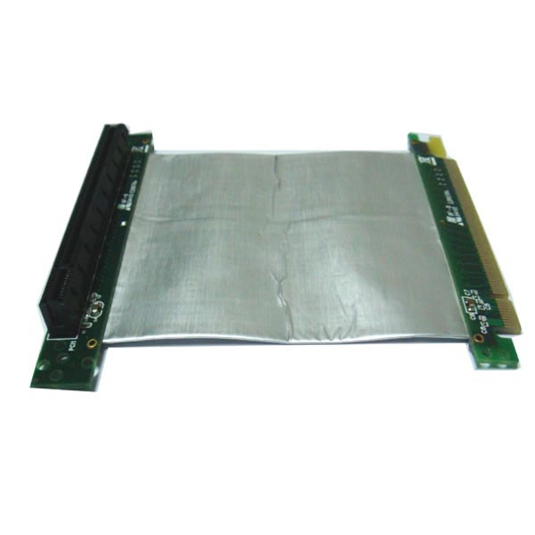ST731B PCI-E express X16 riser card with high speed flex cable