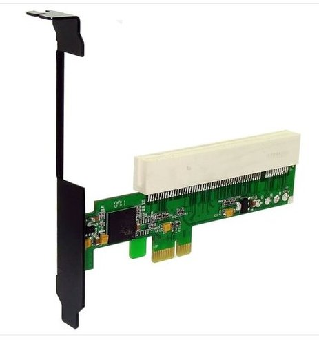 ST8009 PCI-E express X1 to PCI 32bits riser extension card adapter