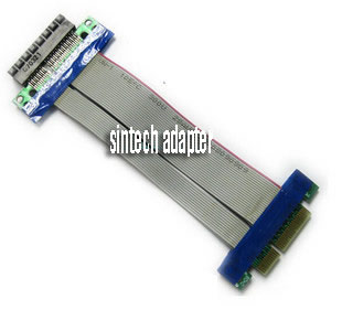ST8017 PCI-E express X1 riser card with flexible cable