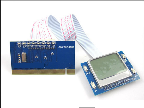 ST-PTI9 PCI pc motherboard diagnostic post debug test card with external LCD display for desktop