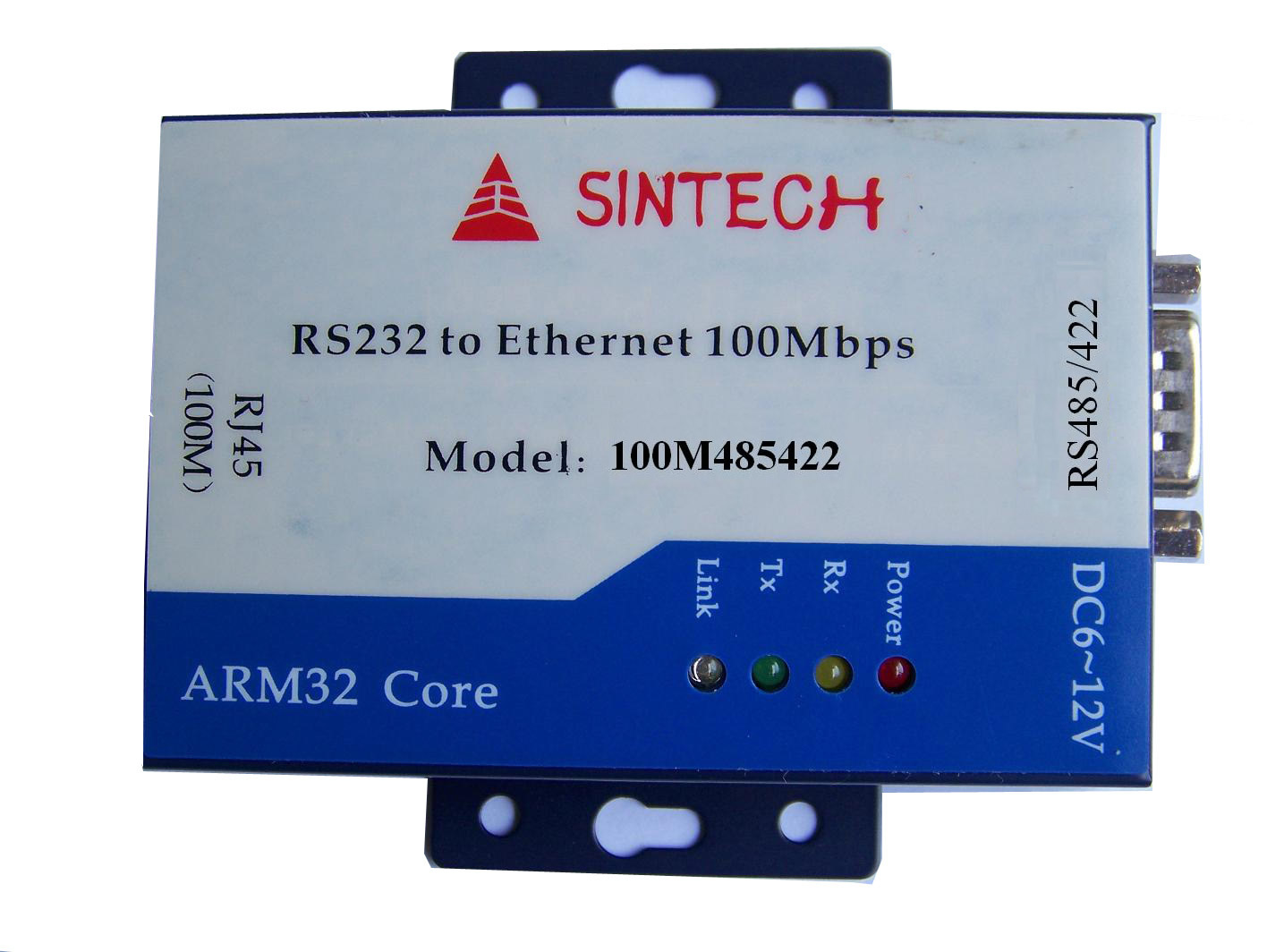 ST100M485422 RS-485/422 To Ethernet TCP/IP Serial Device Server