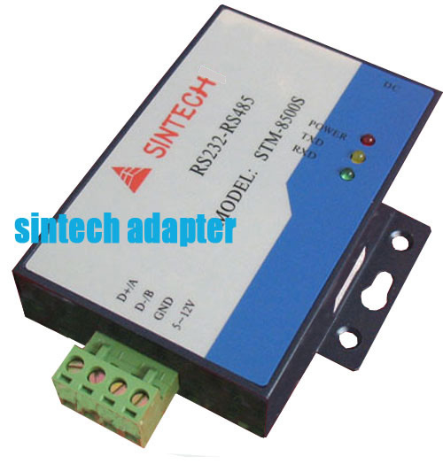 STM8500S RS232 to RS485 converter with extra AC power supply